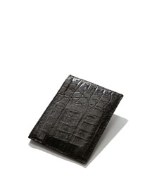 Crocodile Card Case