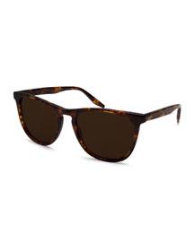 Tuco Polarized Acetate Sunglasses, Chestnut