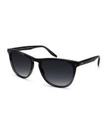 Tuco Polarized Acetate Sunglasses, Pewter