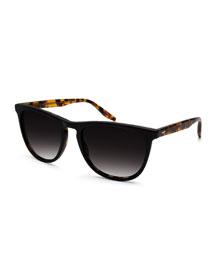 Tuco Polarized Acetate Sunglasses, Black