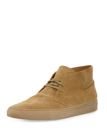 Suede Lace-Up Chukka Boot, Light