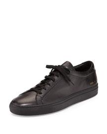 Achilles Low-Top Sneaker, Black