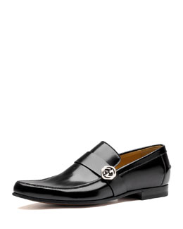 Gucci Leather Loafer