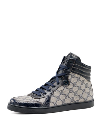 GG Plus-Crocodile Sneaker