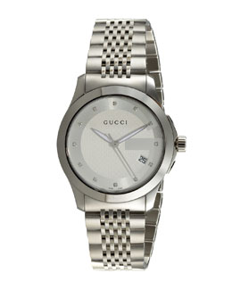 Gucci Diamond-Marker Watch