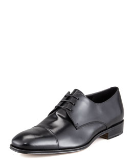 Salvatore Ferragamo Farone Cap-Toe Derby Shoe