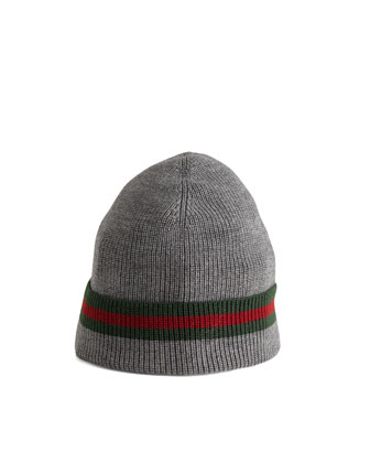 Knit Cap, Gray