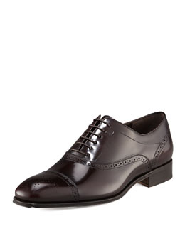 Salvatore Ferragamo Caesy Brogue Oxford