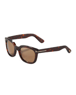 Tom Ford Campbell Plastic Sunglasses