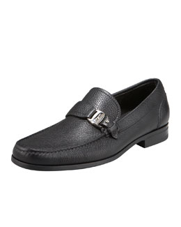Salvatore Ferragamo Bravo Buckle Loafer