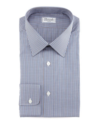 Micro-Check Dress Shirt