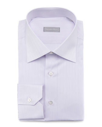 Micro-Striped Dress Shirt
