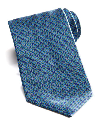 Multi Neats Silk Tie