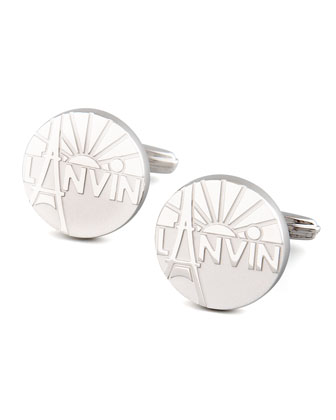 Paris Logo Cuff Links