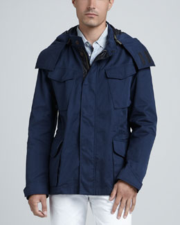 Rag & Bone Suspension Hooded Jacket