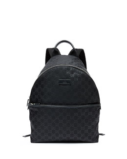 Gucci Nylon Guccissima Backpack