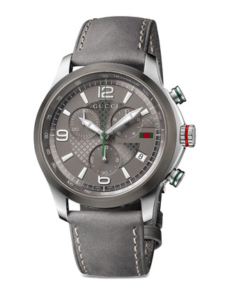 G-Timeless Chronograph Watch, Anthracite