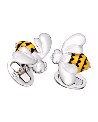 Bumblebee Cuff Links