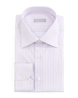 Stefano Ricci Stripe Dress Shirt, Lavender