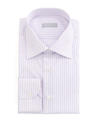 Stripe Dress Shirt, Lavender