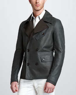 Belstaff Denton Short Pea Coat