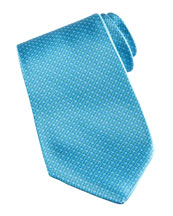 Stefano Ricci Grid Tie, Blue/Green