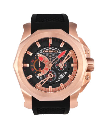 Gladiatore Chronograph Watch, Black