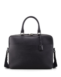 WANT Les Essentiels de la Vie Trudeau Leather Laptop Bag