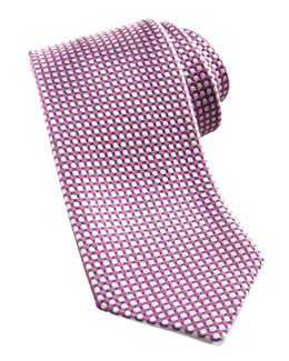 Charvet Dot-Pattern Silk Tie