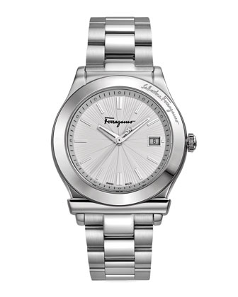 Stainless Steel Watch, Silvertone