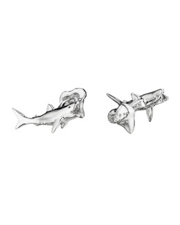 Robin Rotenier Shark & Tooth Cuff Links