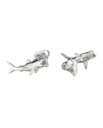 Shark & Tooth Cuff Links