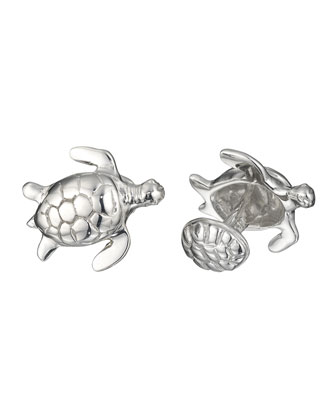 Turtle Cuff Links