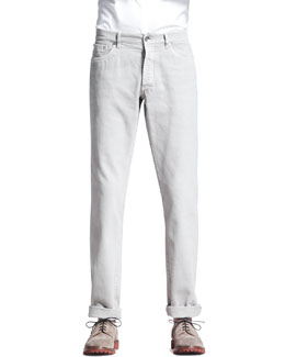Brunello Cucinelli Basic Fit Jeans, Sesame
