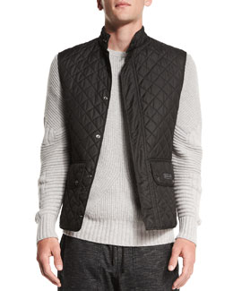 Belstaff Technical Quilted Vest