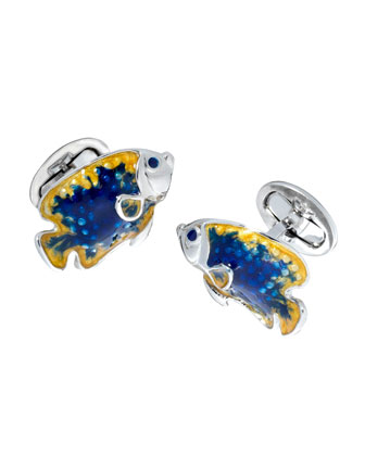 Angelfish Cuff Links