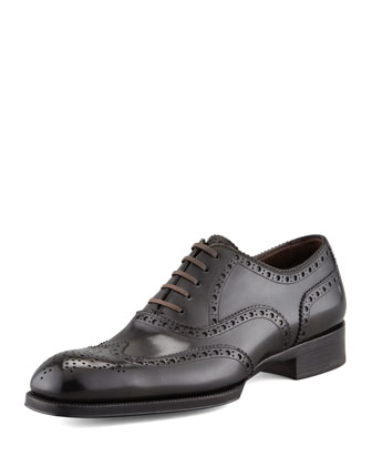 Edward Wing-Tip Oxford, Green