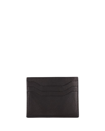 Flap Card Case, Black