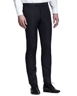 Lanvin Side-Stripe Evening Trousers