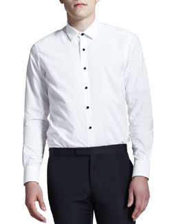 Lanvin White Evening Shirt
