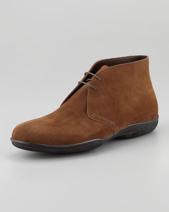 Suede Chukka Boot, Brown