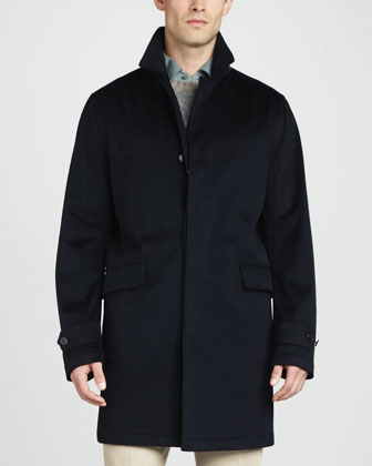 City Trenchcoat, Navy