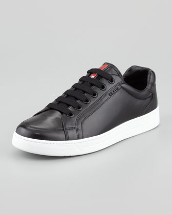 Nappa Sport Low-Profile Sneaker