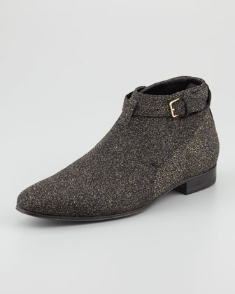 Men's Sparkly Short Jodhpur Boot