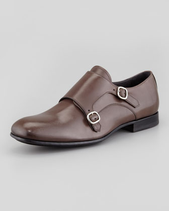 Double Monkstrap Loafer