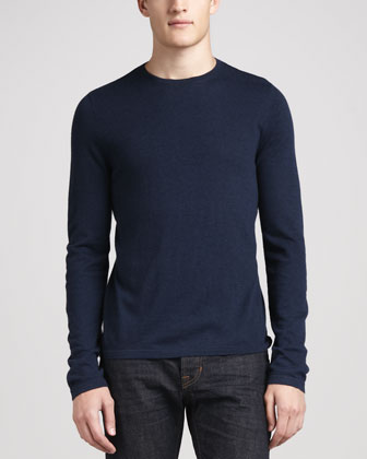 Long-Sleeve Crewneck Sweatshirt