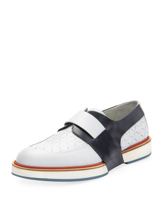 Rudolph Perforated Runway Slip-On