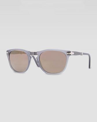 Plastic Folding Sunglasses, Gray