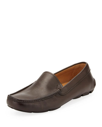 Novo Calf Driver Shoe, Brown