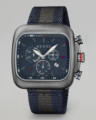 Coupe XL Chronograph Watch, Gray